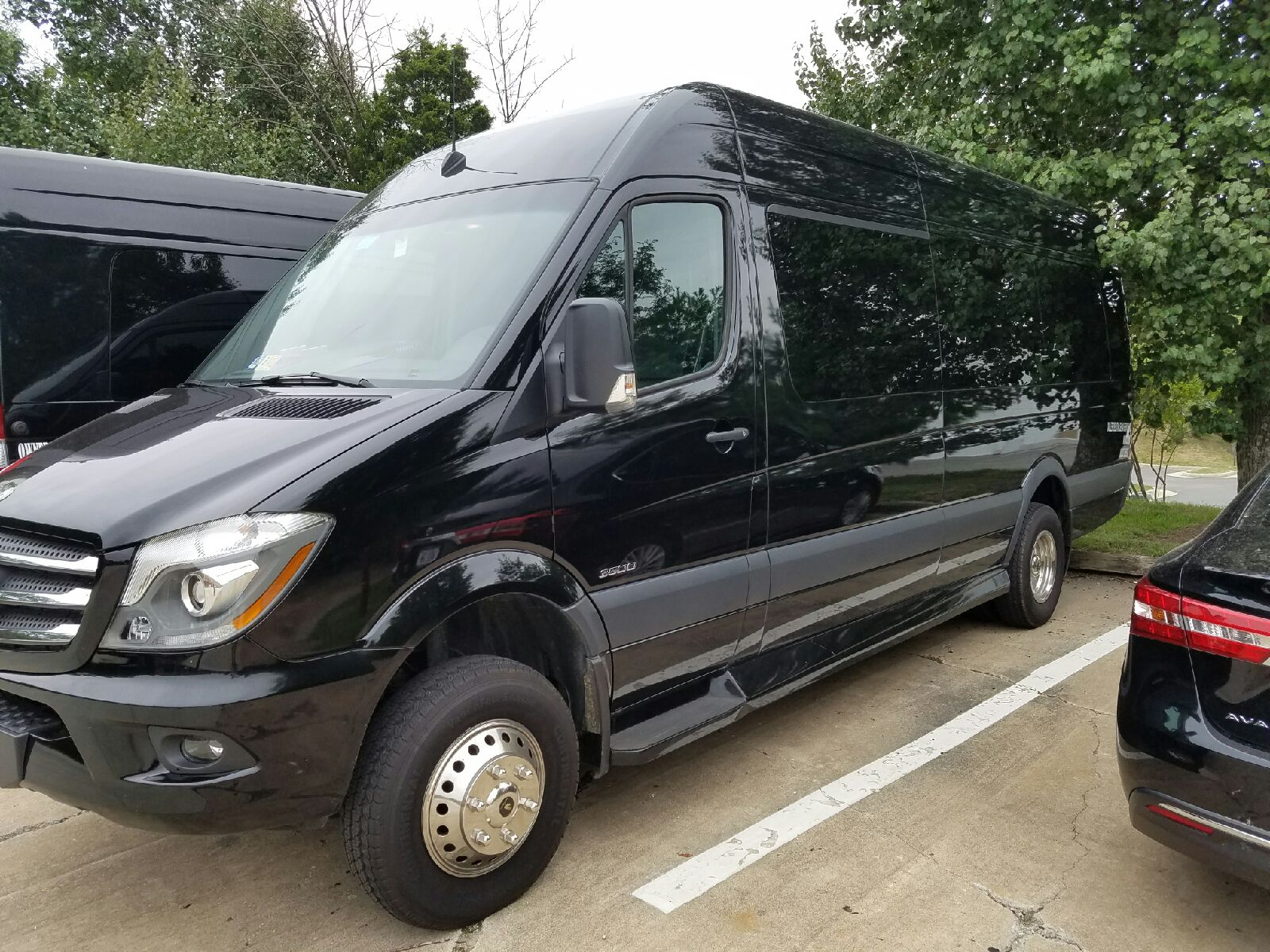 14 Passenger Mercedes Sprinter Van